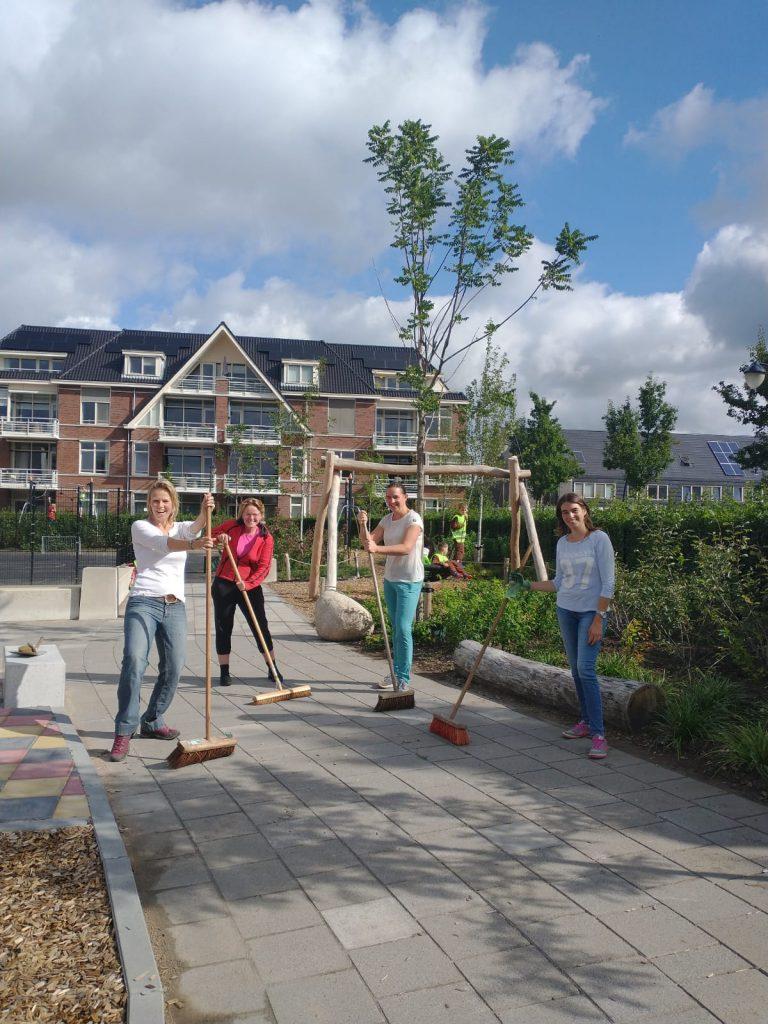 School- en buurtplein onderhouden @ School- en buurtplein
